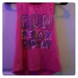 Skechers Shirts & Tops - Girls kids pink sketchers tank top